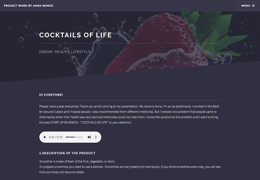 COCKTAILS OF LIFE